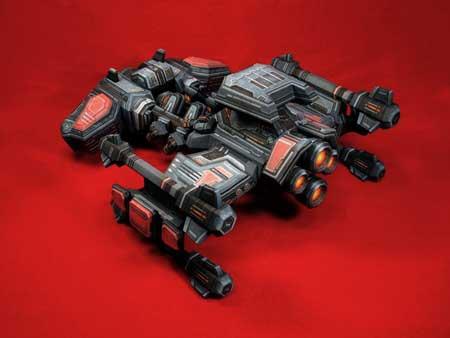 StarCraft 2 Battlecruiser Papercraft