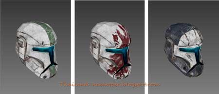 Star Wars Clone Trooper Helmet Papercraft