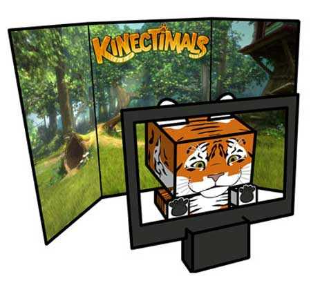 Kinectimals Papercraft Tiger