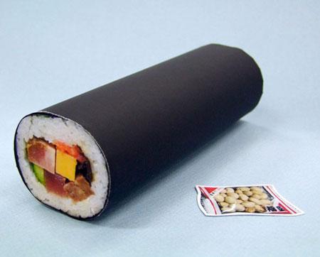 Ehou Maki Papercraft Sushi Roll