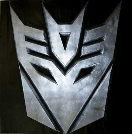 Transformers Decepticon Logo Papercraft