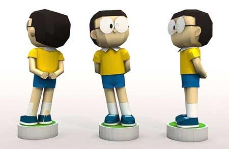 Doraemon Papercraft Nobita Nobi