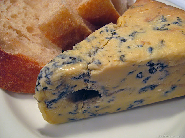 Stinky cheese (English Stilton)