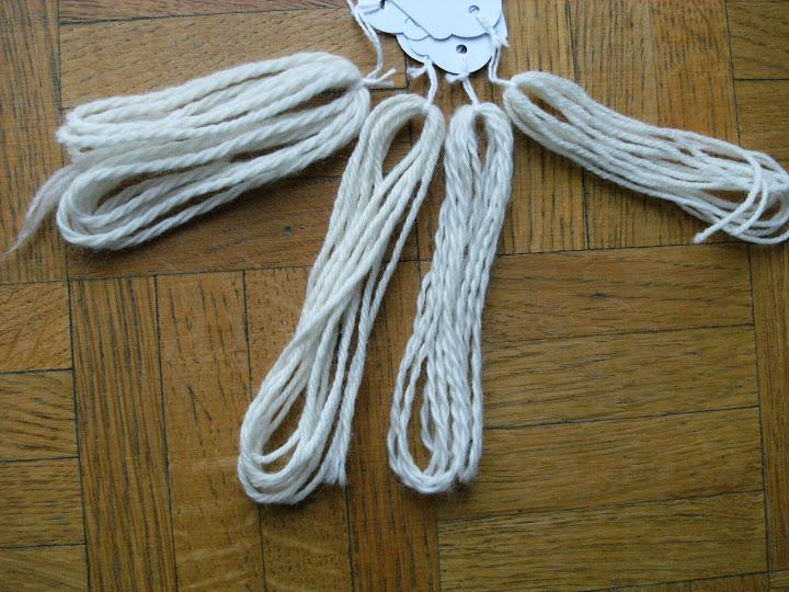 4 laines 100% mérinos Biologiques