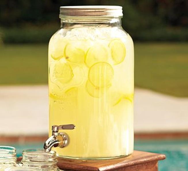 mason jar drink dispenser