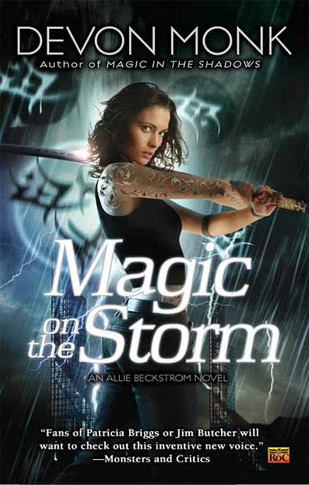 Cover Art: Magic on the Storm by Devon Monk