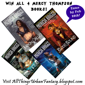 300 Followers: All 4 Mercy Thompson books + A&O International Giveaway!