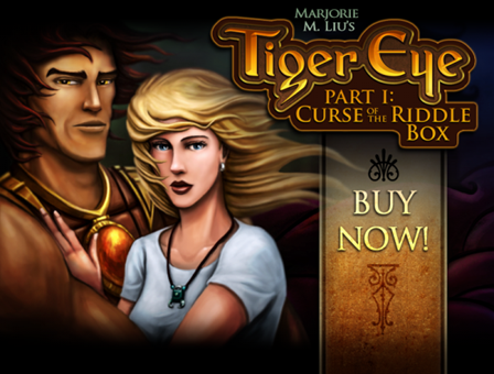 Marjorie M. Liu's Tiger Eye: Curse of the Riddle Box game