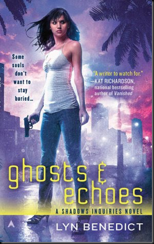 Cover Art: Ghosts & Echoes by Lyn Benedict