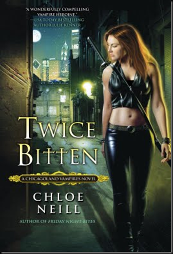 Cover Art: Twice Bitten by Chloe Neill