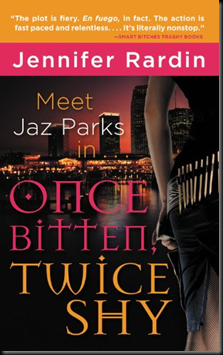 Review: Once Bitten, Twice Shy (Jaz Parks, Book 1) by Jennifer Rardin