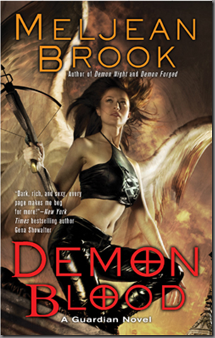 Cover Art: Demon Blood by Meljean Brook