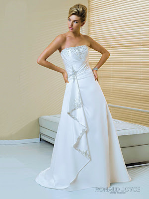 Wedding gown designs perfect satin a line wedding dress for Design my perfect wedding dress