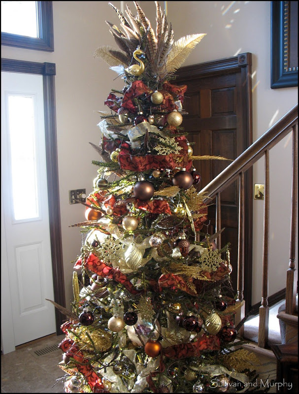 brown&gold tree