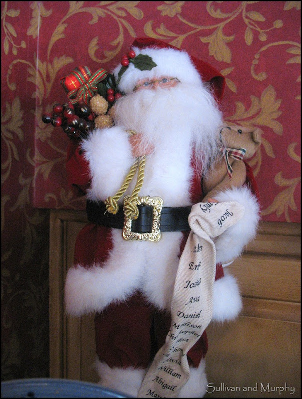 traditional santa