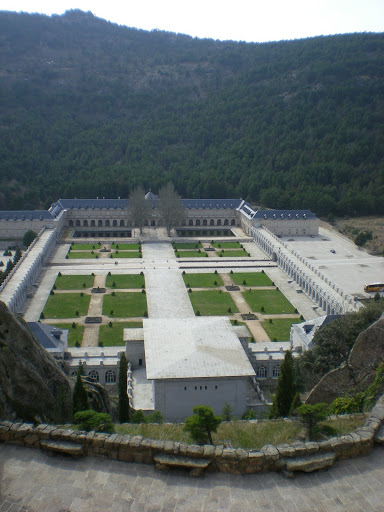 Franco's version of El Escorial, another monastery.