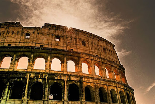 Rome Colloseum HDR image