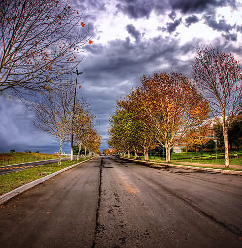 Street HDR image creation tutorial
