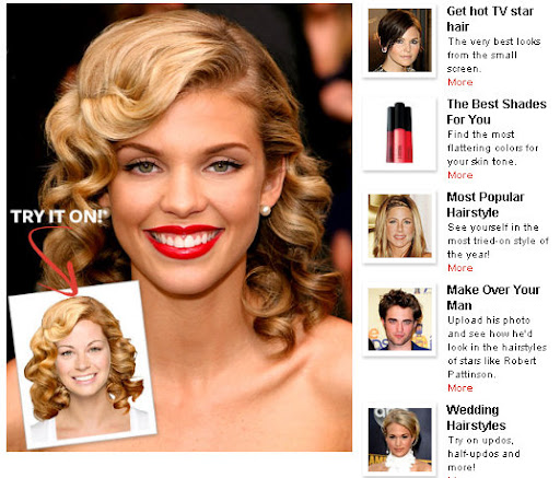 famosas de hollywood. Online Hollywood Hair Virtual