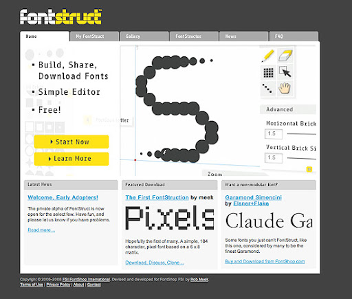 FontStruct - create high quality TrueType fonts