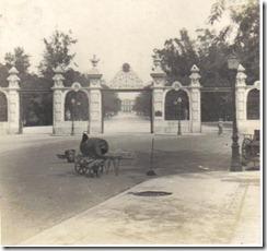 Portões da Quinta da Boa Vista - Anos 20