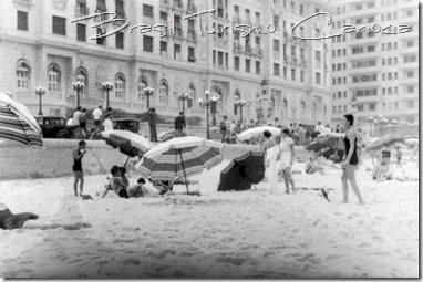 Praia de Copacabana, segunda metade dos anos 30