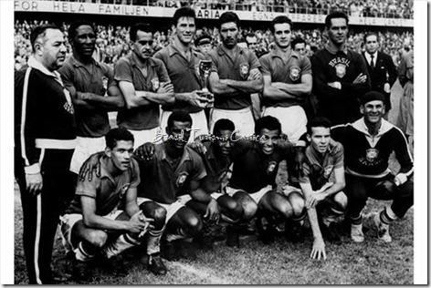 Copa do Mundo da FIFA Suécia 1958 - Final Brazil 5-2 Sweden