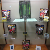 Go Green At Your Library Teen Summer Reading Program Display of Prizes