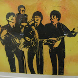 Allison Johnson - Linoleum Cuts of the Beatles Called Norwegian Woodcuts