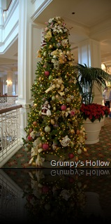 Christmas Tree on 2nd Floor of Grand Floridian