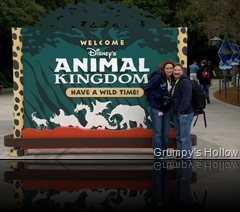 Enchanted Rose & Me in front on DAK Sign