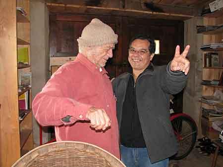 Con José Angel Leyva