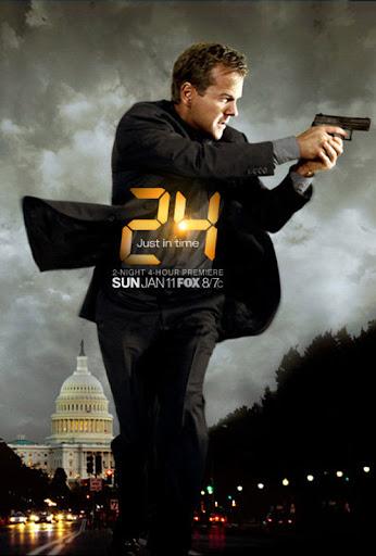24 Poster Temporada 7 Jack Bauer Kiefer Sutherland