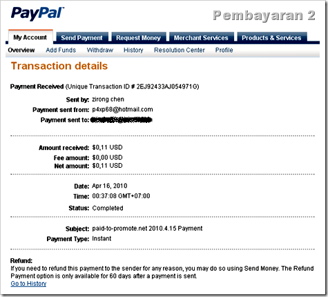 payout proof paid-to-promote 2
