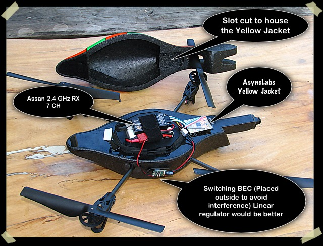 The daily wow rc controlled ar drone with arduino uno