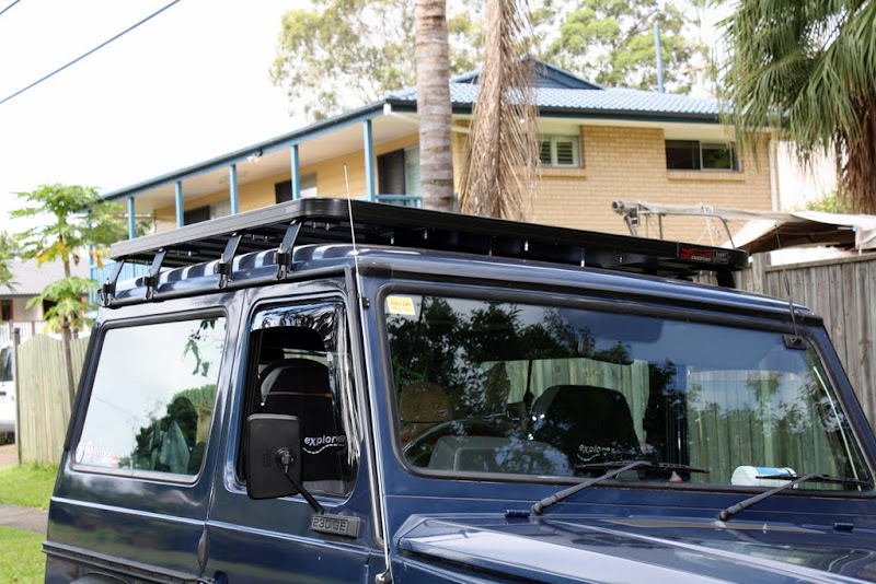 g wagon swb rack options expedition portal. Black Bedroom Furniture Sets. Home Design Ideas