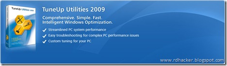 Download Tuneup Utilities 2009 from Rapidshare