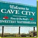 Cave City sign