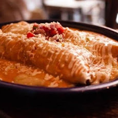 Spicy Shrimp Enchiladas