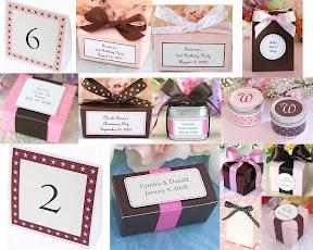 Lembrancinhas%20Sophies%20Favors Baú de ideias: Decoração de casamento marrom (chocolate) e outras cores