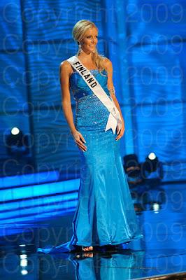 finlandia Miss Universo 2009: Inspirações para vestidos de madrinha e noiva