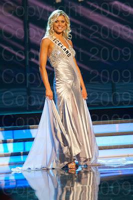 islandia1 Miss Universo 2009: Inspirações para vestidos de madrinha e noiva
