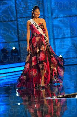 aruba Miss Universo 2009: Inspirações para vestidos de madrinha e noiva