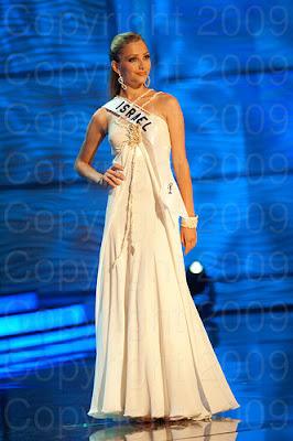israel1 Miss Universo 2009: Inspirações para vestidos de madrinha e noiva