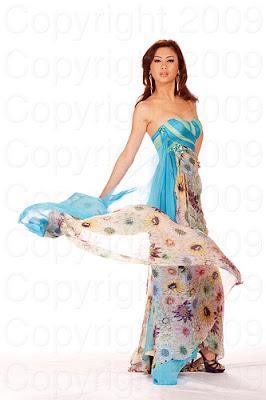 malasia2 Miss Universo 2009: Inspirações para vestidos de madrinha e noiva