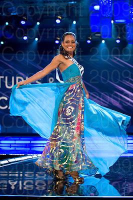 ilha turks e caicos Miss Universo 2009: Inspirações para vestidos de madrinha e noiva