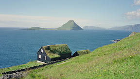 Koltur island, from Stremoy island, Faroe Islands
