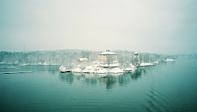 Djurg�rden, Stockholm, viewed from ferry