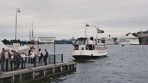 Waiting for the ferry to the Fj�derholmar islands, Stockholm