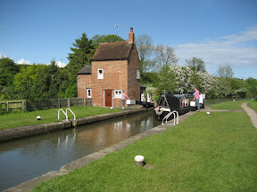 Braunston Lock No 2, Grand Union Canal (Grand Junction Canal - Main Line), Northamptonshire